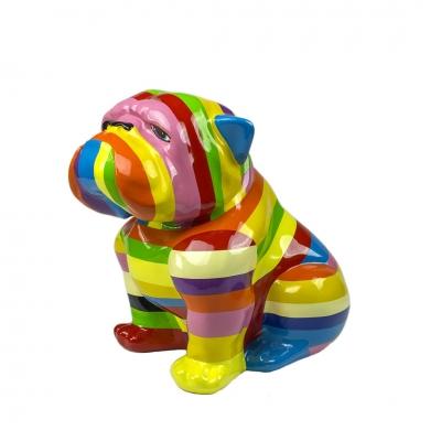 Bulldog Multicolor 40 cm