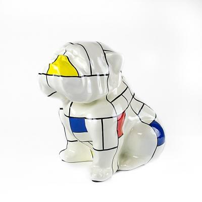 Bulldog Mondrian 40 cm