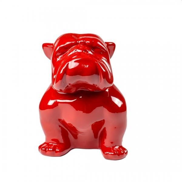 Bulldog Giallo Lucido 40 cm