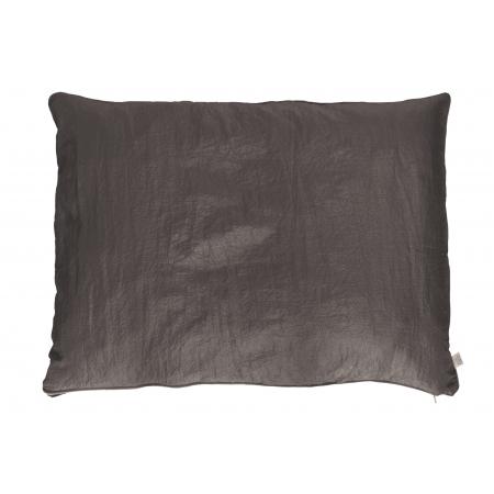 fodera per cuscinone Easy color grigio lilla per bulldog